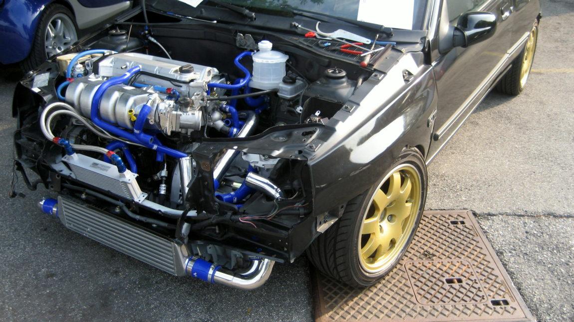 Curiosità: il 75% di un'auto è fatta da componenti